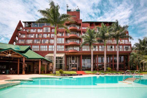 Hotel Amerian portal Iguazú