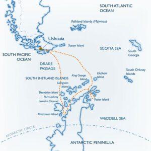 Antartida recorrido