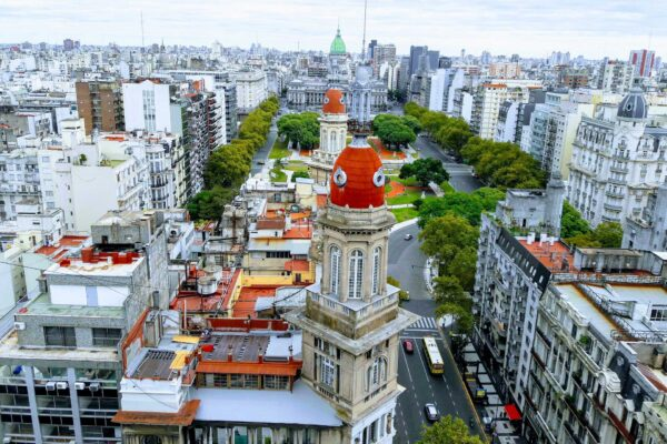 Overflights by helicopter in Buenos Aires, an unforgettable experience