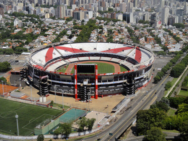River Plate Stadium. Overflights by helicopter in Buenos Aires, an unforgettable experience.