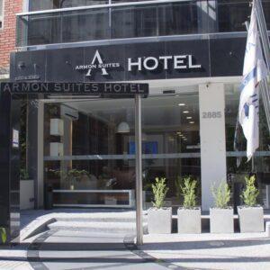 Hotel Armon Suites en Montevideo, Uruguay. Puede reservarlo con la Agencia de Viajes ATN Travel Services. Armon Suites Hotel in Montevideo, Uruguay. Booking with us, ATN Travel Services, Travel agency.