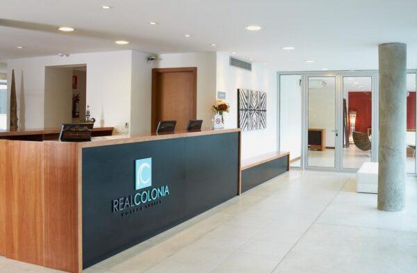 Hotel Real Colonia, Uruguay. Puede reservarlo con la Agencia de Viajes ATN Travel Services. Booking Real Colonia Hotel with us, ATN Travel Services, Travel agency.