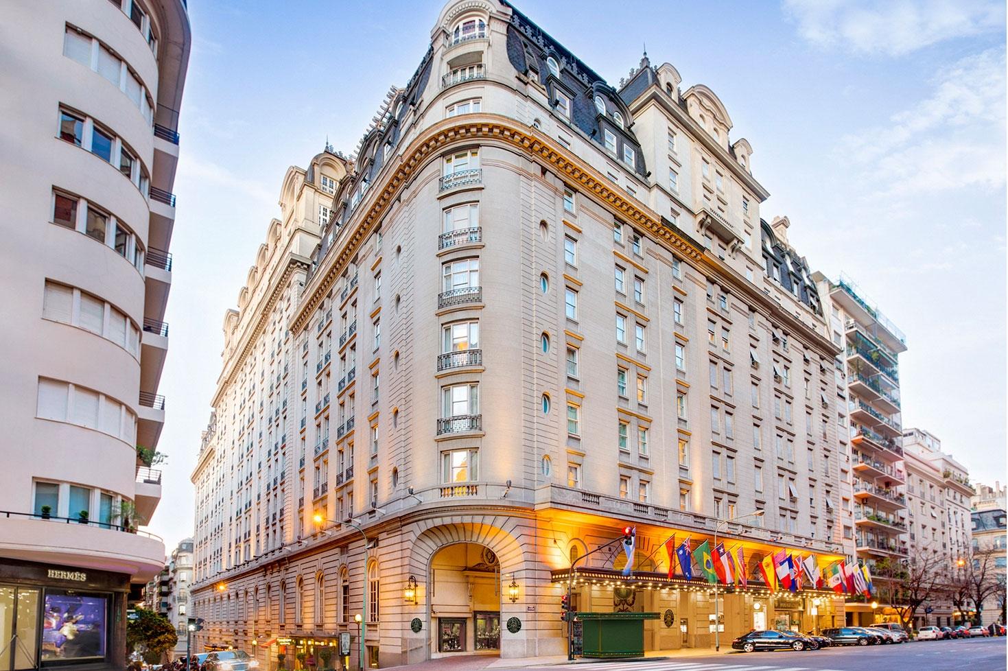 Hotel Alvear Palace. Recoleta. Ciudad de Buenos Aires.